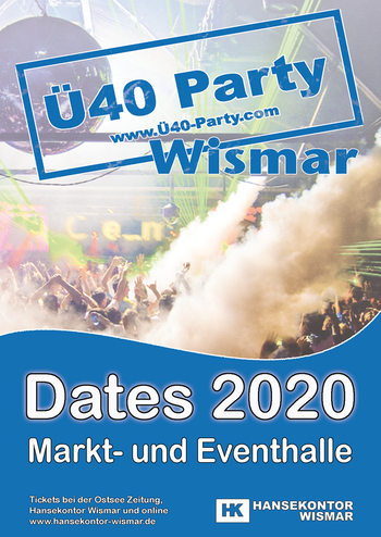 Ü40 Party Wismar - feiern, tanzen und schwofen ab 40